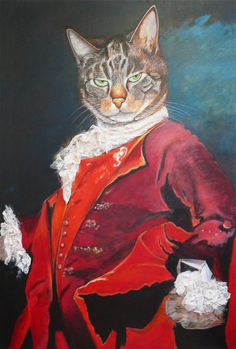 Le chat aristocrate -130x89